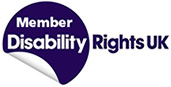 Member of Disability Rights UK (logo)