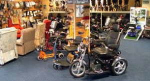 Picture of a Disability Equipment shop