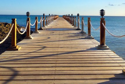 image of a pier