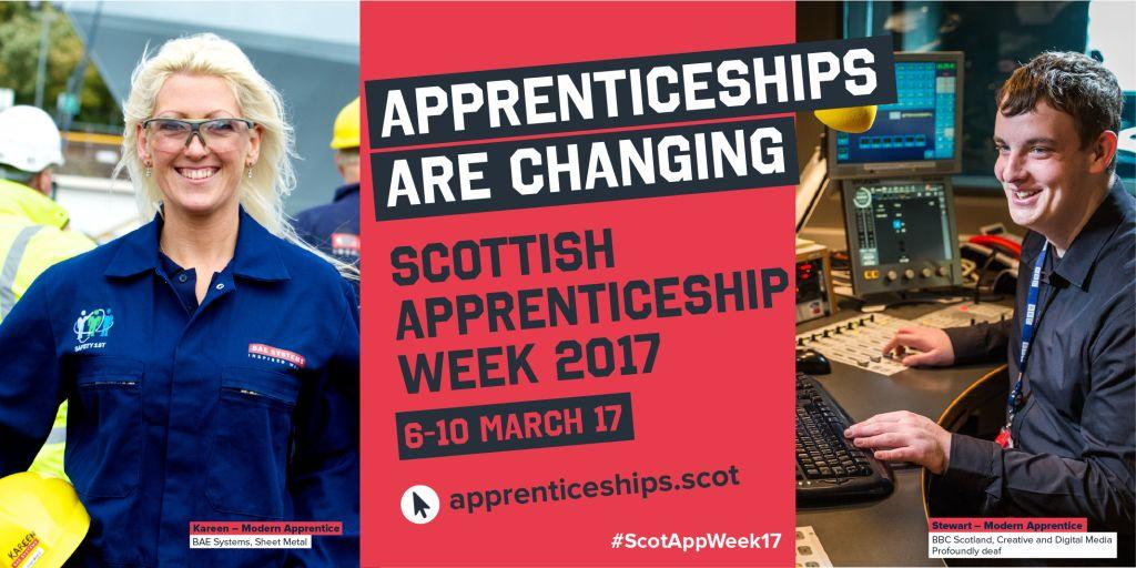 Guest blog on Modern Apprenticeships for disabled people in Scotland (by Kirsteen Allison of SDS)