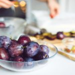 image of bowl of plums
