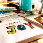 choose joy painted